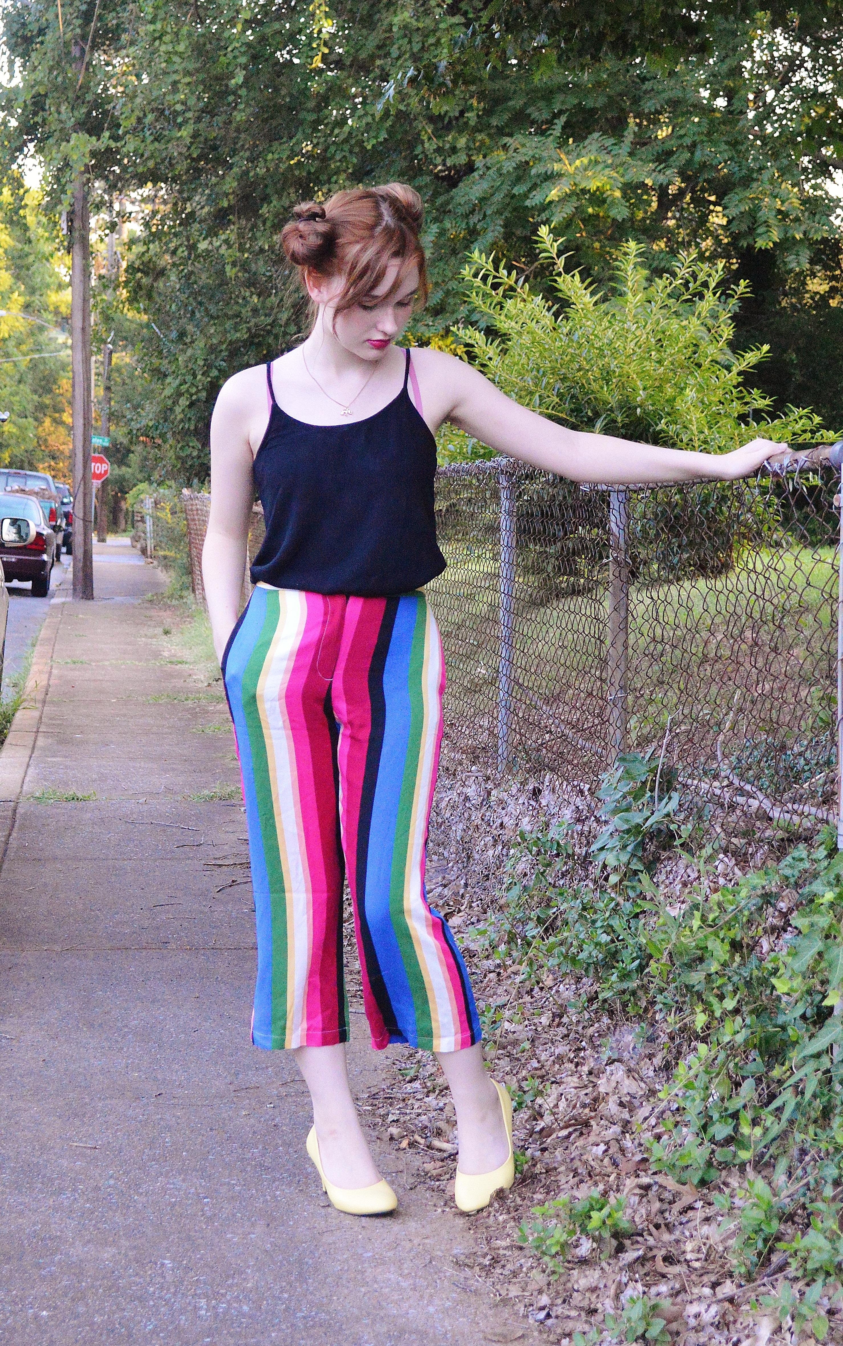 Striped Pants 2